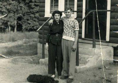 Bill & Marilyn Rogers - 1949