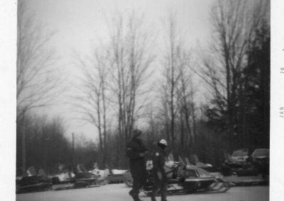 Snowmobiling January 1970