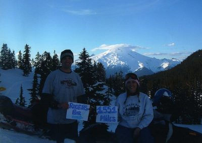 Tracy Snowmobiling Seattled