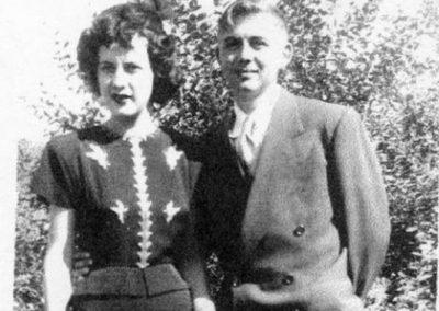 Bill & Marilyn - 1949